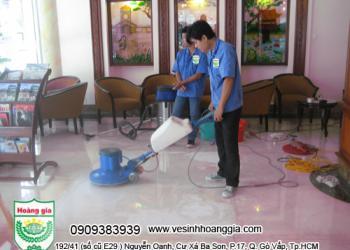 Dịch vụ mài sàn bê tông