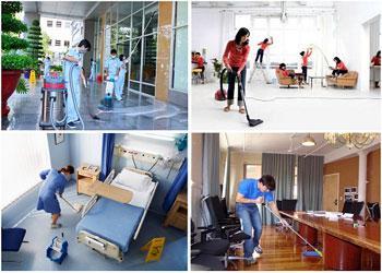 Dịch vụ vệ sinh nhà ở tại Quận Bình Thạnh uy tín chất lượng