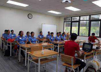 Vệ sinh Hoàng Gia tổ chức chương trình đào tạo nhân viên vệ sinh công nghiệp