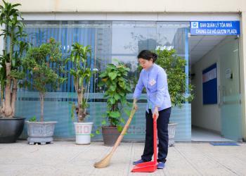 Cung cấp tạp vụ vệ sinh văn phòng danh tiếng